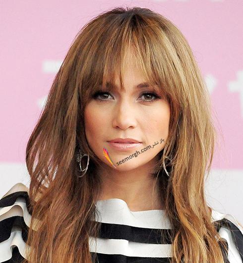 مدل مو,مدل مو چتری,مو چتری,مدل مو چتری به پیشنهاد جنیفر لوپز Jennifer Lopez
