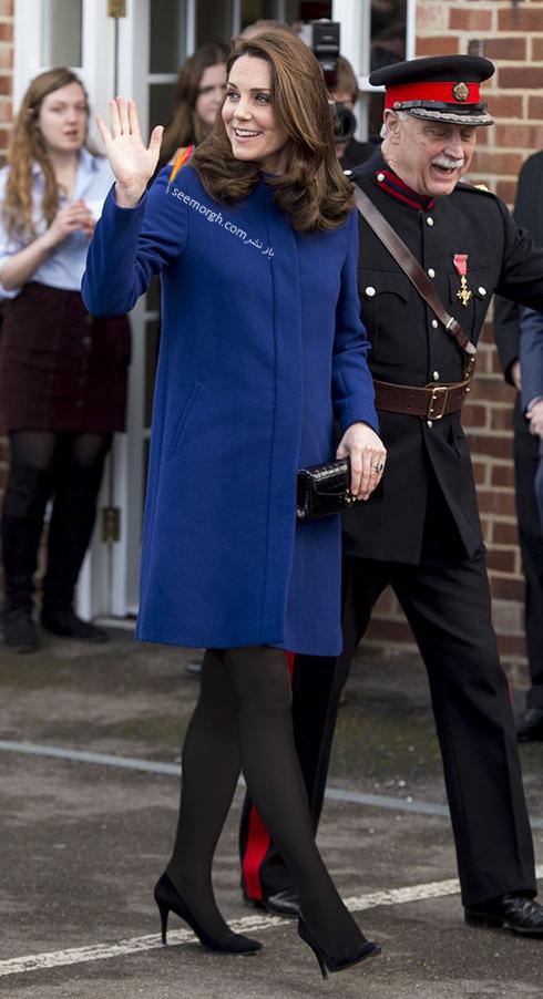 کیت میدلتون Kate Middleton در هر مراسمی با لباس هایش جوراب می پوشد,کیت میدلتون