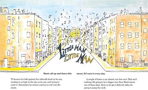 تصویرگری کتاب «مرد کوچک، مرد کوچک»,جیمز بالدون