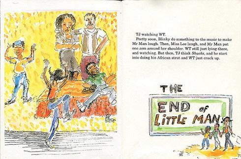 کتاب «مرد کوچک، مرد کوچک»