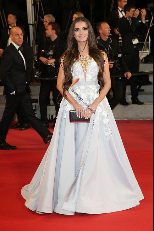 بهترین مدل لباس در جشنواره کن 2018 Cannes - ماریا نیکلینسکا Maria Niklinska,مدل لباس,جشنواره کن,جشنواره کن 2018,بهترین مدل لباس در جشنواره کن 2018,مدل لباس های برتر در جشنواره کن 2018