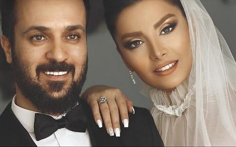 عکس عروسی احمد مهرانفر و همسرش مونا فائزپور