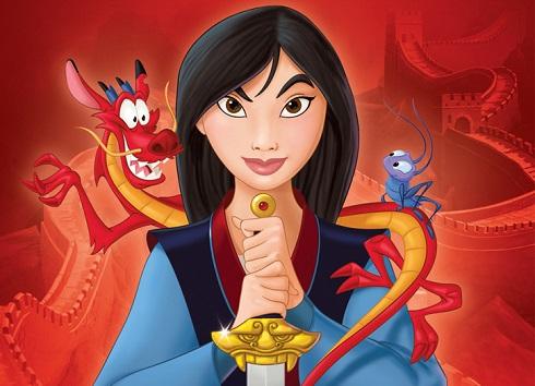 مولان (Mulan),مولان,انیمیشن مولان,شخصیت مولان,افسانه مولان