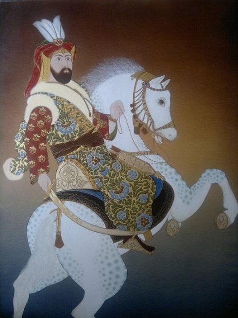 سلطان مراد سوار بر اسب,سلطان مراد چهارم,سلطان مراد عثمانی
