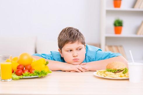بچه چاق،رژیم غذایی کاهش وزن