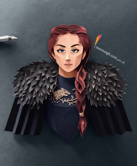 Game of Thrones,سانسا استارک,بازی تج و تخت