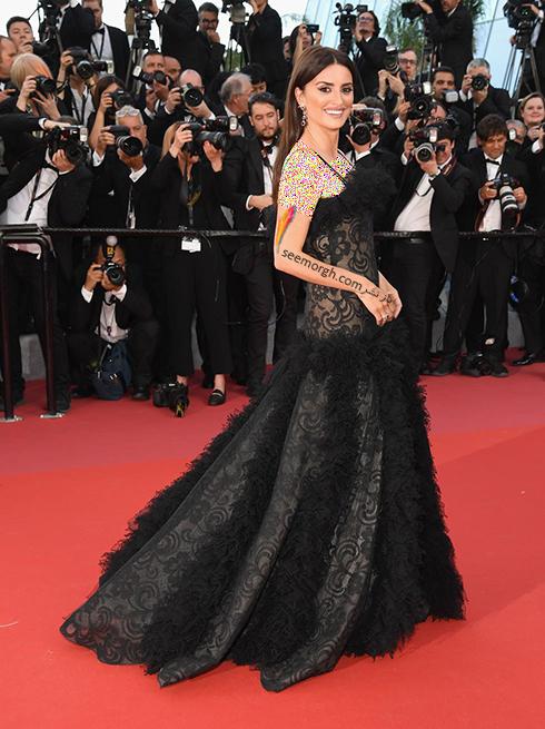 بهترین مدل لباس در جشنواره کن 2018 Cannes - پنه لوپه کروز Penelope Cruz,مدل لباس,جشنواره کن,جشنواره کن 2018,بهترین مدل لباس در جشنواره کن 2018,مدل لباس های برتر در جشنواره کن 2018