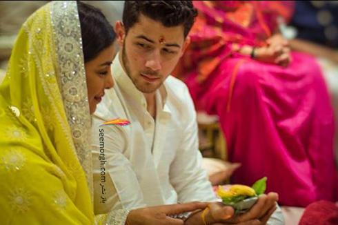 عکس های مراسم نامزدی پریانکا چوپرا Priyanka Chopra و نیک جوناس Nick Jonas,پریانکا چوپرا,نامزدی پریانکا چوپرا,مراسم نامزدی پریانکا چوپرا