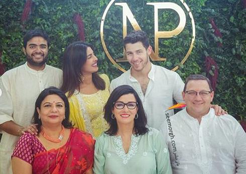 عکسهای مراسم نامزدی پریانکا چوپرا Priyanka Chopra و نیک جوناس Nick Jonas,پریانکا چوپرا,نامزدی پریانکا چوپرا,مراسم نامزدی پریانکا چوپرا
