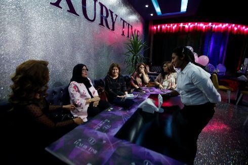 رستوران ویژه زنان در اربیل عراق