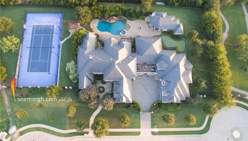 دکوراسیون داخلی ویلای سلطنتی سلنا گومز Selena Gomez - نمای بیرونی,سلنا گومز,دکوراسیون ویلای سلطنتی سلنا گومز,دکوراسیون داخلی خانه افراد مشهور