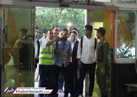 ورود مسعود شجاعي و اشکان دژاگه به تبريز