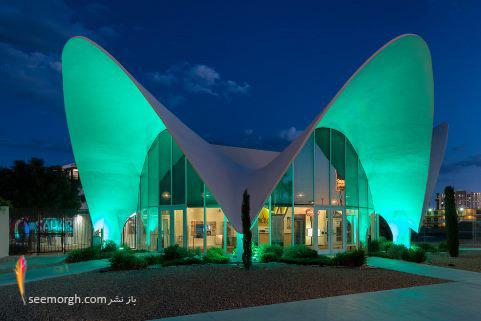 موزه نئون,هنگام شب,لاس وگاس