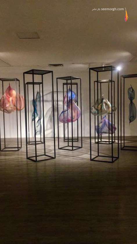 نمایشگاه,سولماز لینهارد,دم