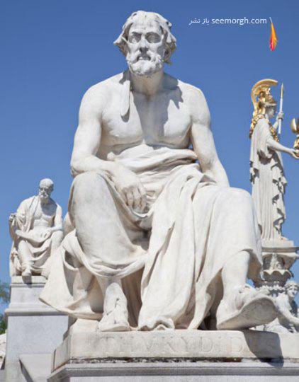 توسیدید,یونان باستان,مرگ