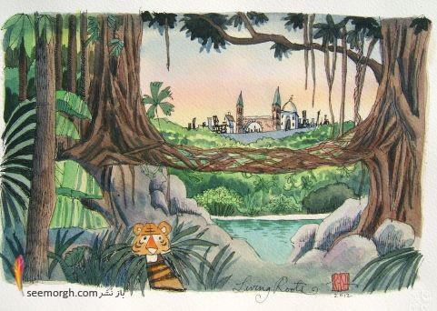 نقاشی,جنگل,,Prashant Miranda