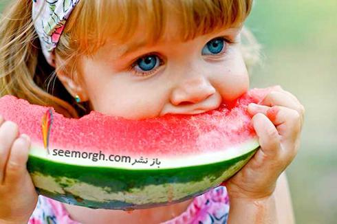 هندوانه,هندوانه خوردن