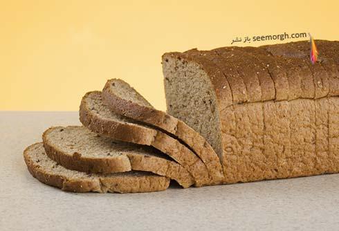 نان تست،نان غلات کامل