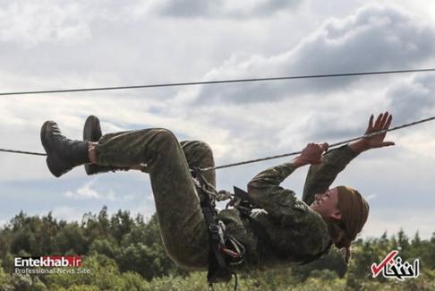مسابقه زنان نظامی