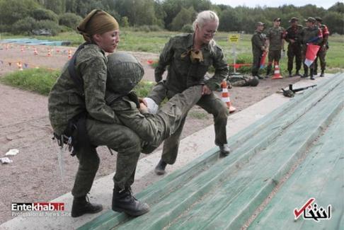مسابقه زنان نظامی 2