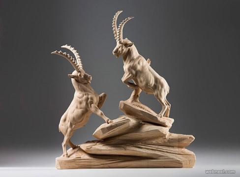 مجسمه های چوبی,Giuseppe Rumerio