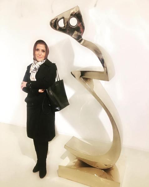 تیپ ژیلا امیرشاهی مجری تلویزیون