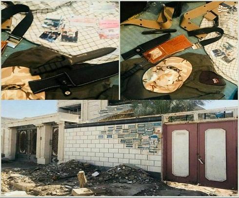 اولین تصاویر از خانه تیمی تروریستهای حادثه اهواز