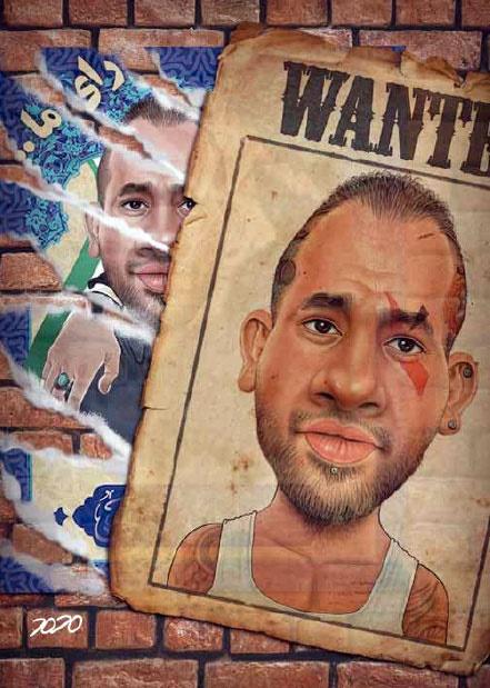 پوستر جدید امیر تتلو بعد از اظهارات اژه ای!