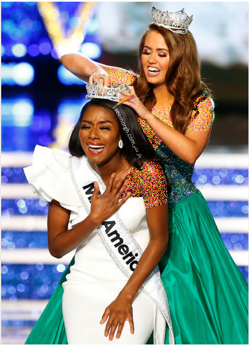 دختر شایسته,دختر شایسته آمریکا,مراسم انتخاب دختر شایسته,مراسم انتخاب دختر شایسته 2019,نیا فرانکلین Nia Franklin دختر شایسته آمریکا Miss America