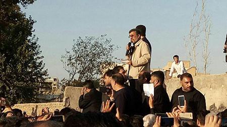 احمدی نژاد: پول نیست؟ من میدانم کجاست+تصاویر