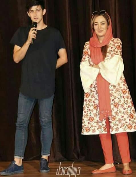 سردار آزمون و بهاره افشاری در اکران مستند سریک