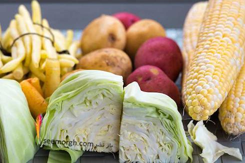 سبزی ها,منابع ویتامین B6