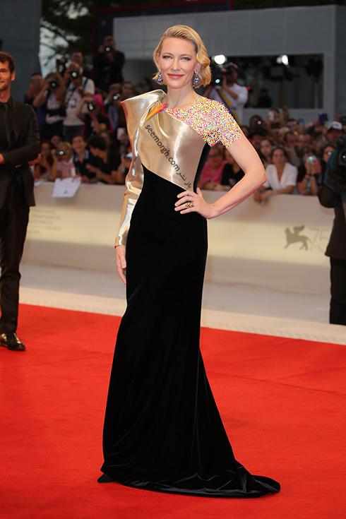 کیت بلانشت Cate Blanchett در جشنواره فیلم ونیز 2018 Venice Film Festival,جشنواره فیلم وینز,جشنواره ونیز,مدل لباس,مدل لباس در جشنواره ونیز,مدل لباس در جشنواره فیلم ونیز