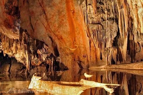 غار,غارهای ایران,زیباترین غارها