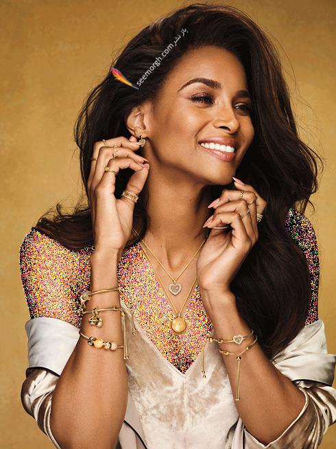 سیرا,پاندورا,عکس های جدید سی یرا Ciara برای تبلیغات برند پاندورا Pandora