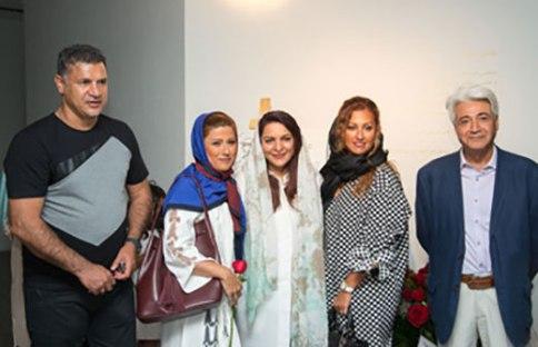 علی دایی و همسرش در کنار تهمینه میلانی
