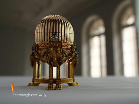 Fabergé eggs,تخم مرغ های Fabergé