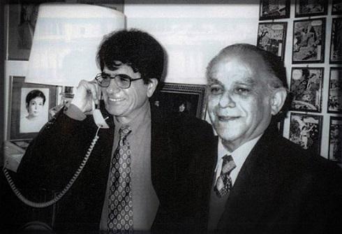 فریدون مشیری و محمدرضا شجریان