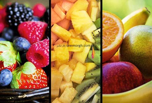 میوه های منبع ویتامین ث