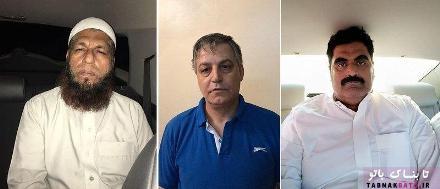 عکس سه مردی که حلیمه بولند را سرکار گذاشته بودند