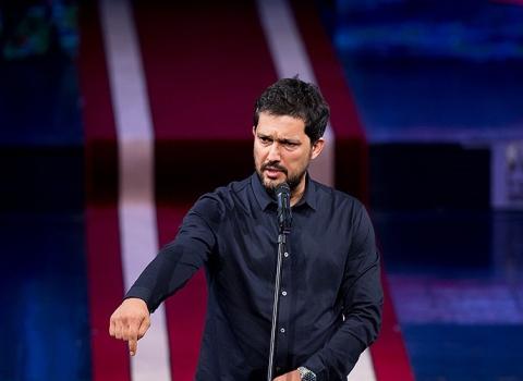 حضور حامد بهداد در جشن خانه سینما