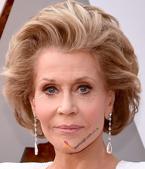 مدل گوشواره,گوشواره,مدل گوشواره در اسکار,اسکار 2018,مدل گوشواره در اسکار 2018,بهترین مدل گوشواره در اسکار 2018 - جین فوندا Jane Fonda از برند شوپارد Chopard