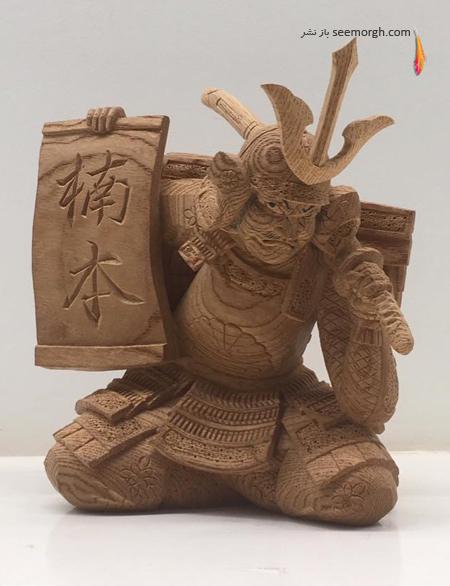 Yamamoto Yosuke,مجسمه سازی,منبت کاری,مجسمه سازی با چوب,مجسمه های Yamamoto Yosuke