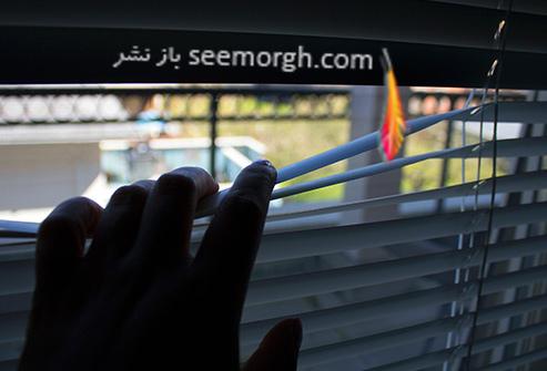 تنهایی,افسردگی,از پنجره بیرون را نگاه کردن