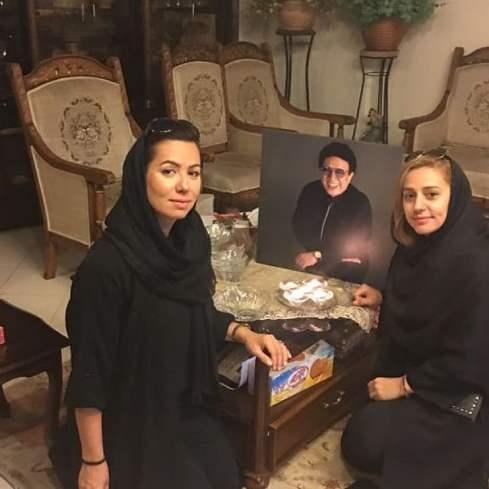 مهسا عرفانی در سمت راست تصویر