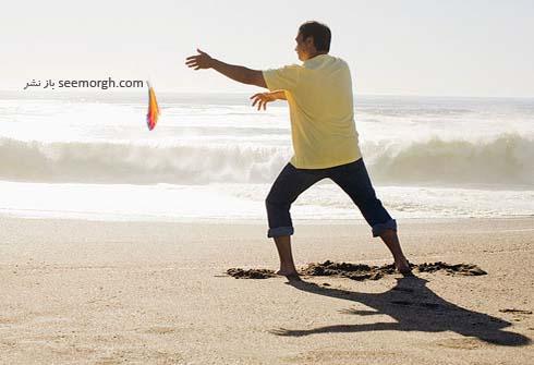 ورزش در ساحل
