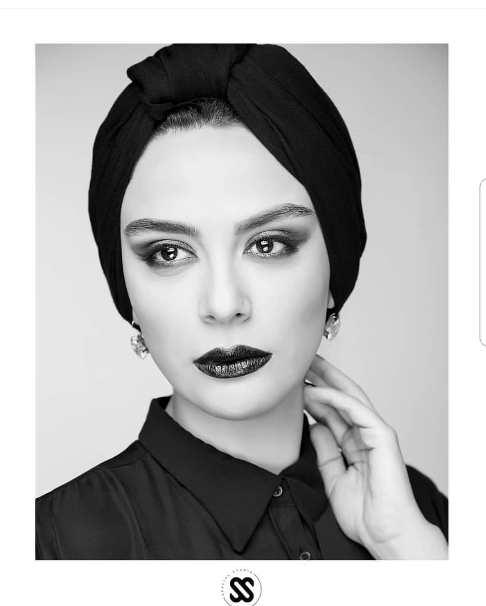 عکس مارال فرجاد به عنوان مدل آرایشی