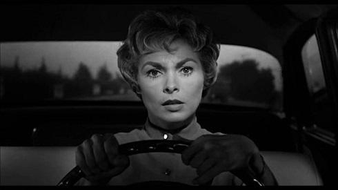 جنت لَی در فیلم روانی (۱۹۶۰)