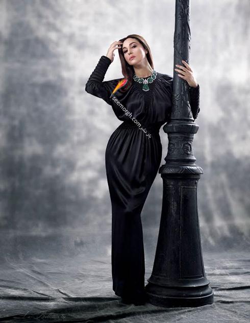 مونیکا بلوچی,جدیدترین عکس های مونیکا بلوچی,بهترین عکس های مونیکا بلوچی,جذاب ترین عکس های مونیکا بلوچی روی مجله مد آمریکایی