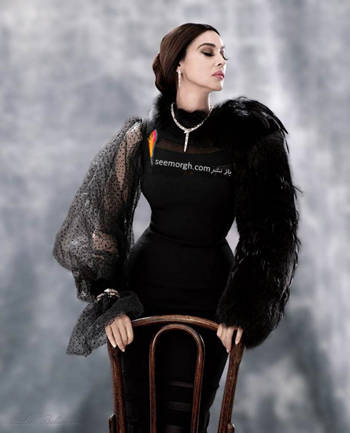 مونیکا بلوچی,جدیدترین عکس های مونیکا بلوچی,بهترین عکس های مونیکا بلوچی,عکس جدید مونیکا بلوچی روی مجله مد آمریکایی